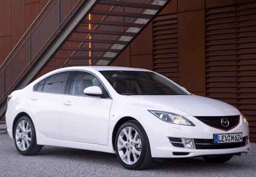 MAZDA 6 III sedan biały przedni prawy