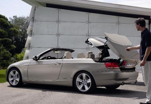 BMW Seria 3 kabriolet silver grey szczegółowe opcje