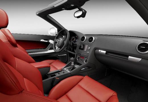 AUDI A3 kabriolet tablica rozdzielcza