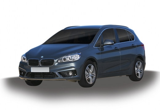 BMW Seria 2 Active Tourer F45 I kombi silver grey