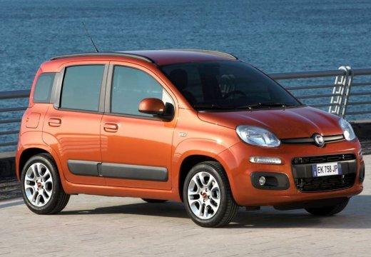 FIAT Panda III hatchback czerwony jasny przedni prawy