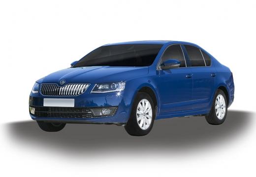 SKODA Octavia III I hatchback niebieski jasny