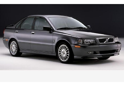 VOLVO S40 II sedan szary ciemny przedni prawy