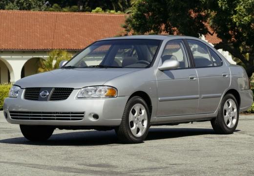 NISSAN Sentra sedan silver grey przedni lewy