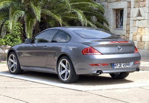 BMW Seria 6 E63 II coupe silver grey tylny lewy