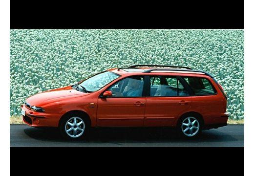 FIAT Marea kombi czerwony jasny przedni lewy