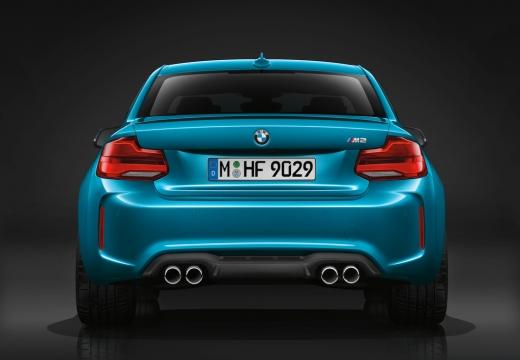 BMW Seria 2 coupe niebieski jasny tylny