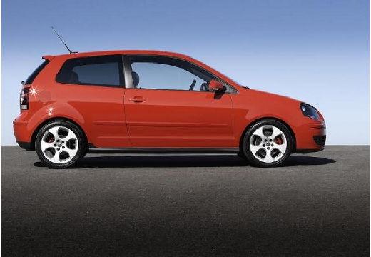 VOLKSWAGEN Polo IV II hatchback czerwony jasny boczny prawy