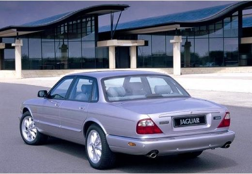 JAGUAR XJ III sedan silver grey tylny lewy