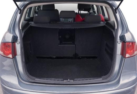 SEAT Altea hatchback przestrzeń załadunkowa
