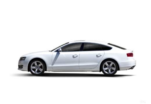 AUDI A5 Sportback I hatchback boczny lewy