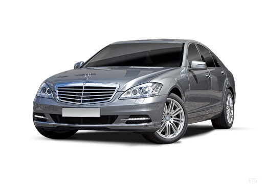 MERCEDES-BENZ Klasa S W 221 II sedan silver grey