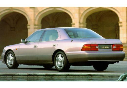 LEXUS LS 400 II sedan szary ciemny tylny lewy