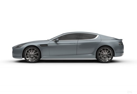 ASTON MARTIN Rapide coupe boczny lewy