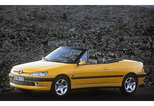 PEUGEOT 306 Cabrio II kabriolet żółty przedni lewy