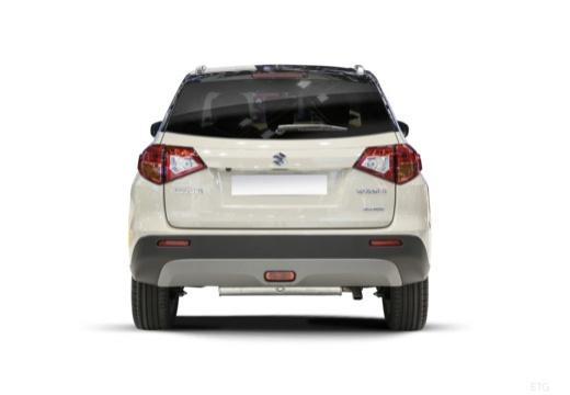 SUZUKI Vitara II hatchback biały tylny