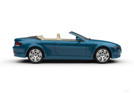 BMW Seria 6 Cabriolet E64 I kabriolet boczny prawy