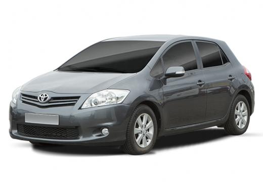 Toyota Auris II hatchback silver grey