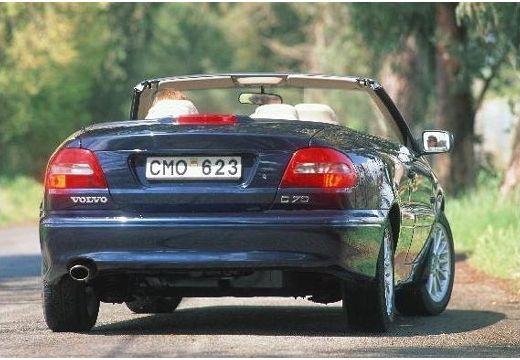 VOLVO C70 kabriolet czarny tylny prawy