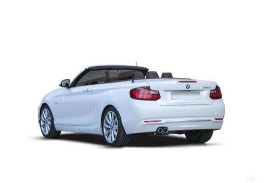 BMW Seria 2 kabriolet tylny lewy