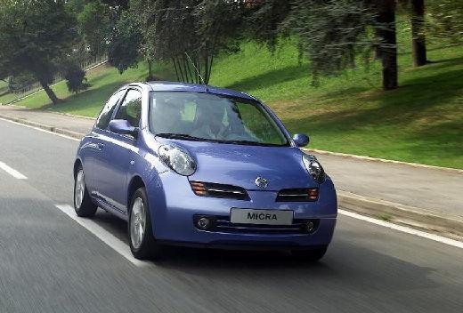NISSAN Micra V hatchback niebieski jasny przedni lewy