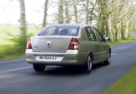 RENAULT Thalia III sedan silver grey tylny prawy