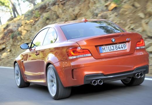 BMW Seria 1 E82 II coupe czerwony jasny tylny lewy
