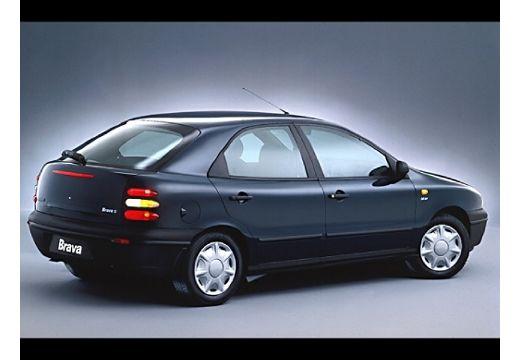 FIAT Brava hatchback czarny tylny prawy