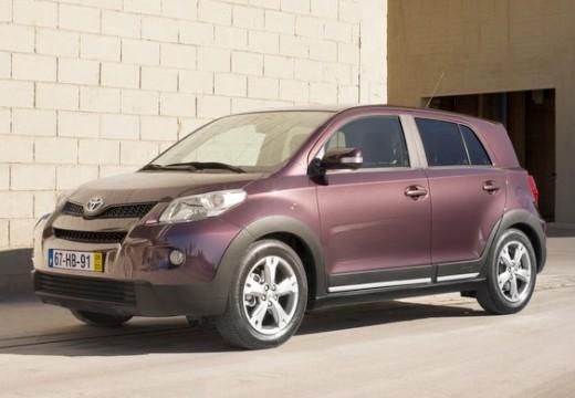 Toyota Urban Cruiser I hatchback fioletowy przedni lewy