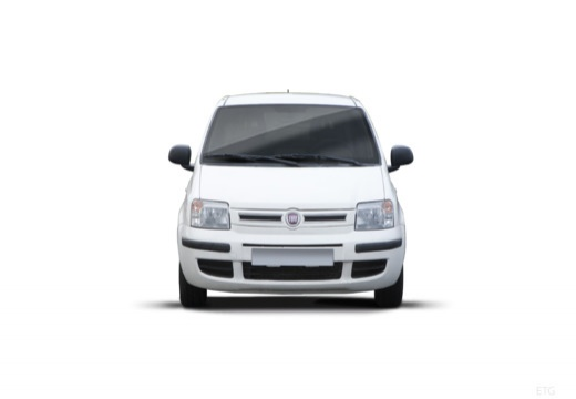 FIAT Panda II hatchback biały przedni
