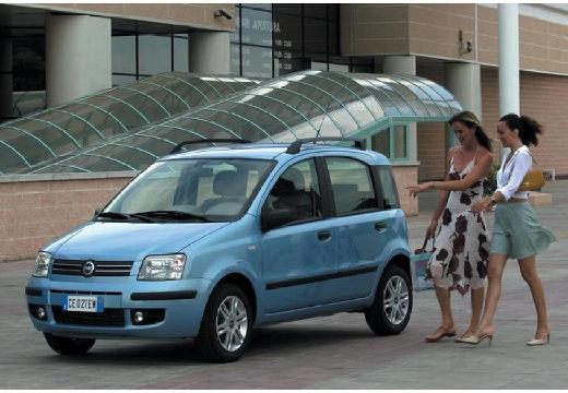 FIAT Panda II hatchback niebieski jasny przedni lewy