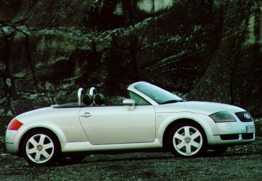 AUDI TT Coupe 8N roadster silver grey przedni prawy