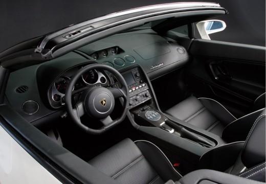LAMBORGHINI Gallardo Spyder I roadster biały tablica rozdzielcza