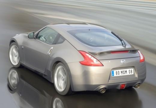 NISSAN 370 Z I coupe silver grey tylny lewy