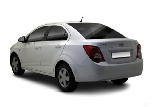 CHEVROLET Aveo III sedan biały tylny lewy