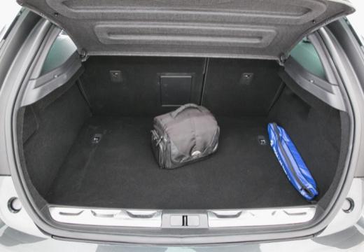 CITROEN DS5 II hatchback szary ciemny przestrzeń załadunkowa
