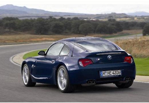 BMW Z4 coupe niebieski jasny tylny lewy