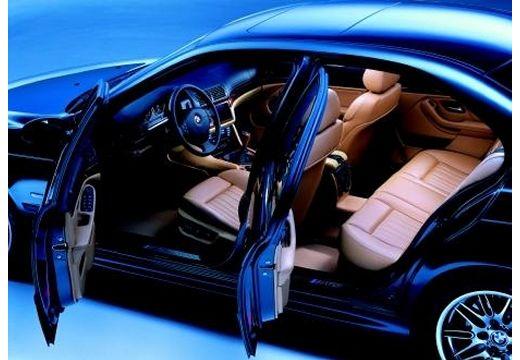 BMW Seria 5 E39 sedan czarny wnętrze