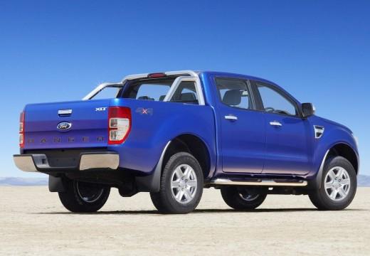 FORD Ranger pickup niebieski jasny tylny prawy