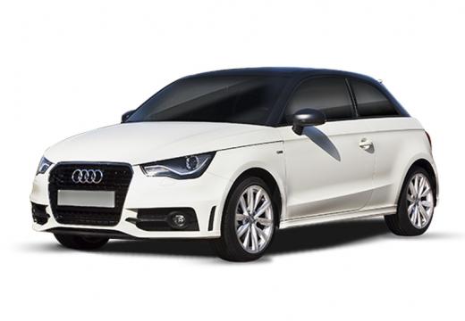 AUDI A1 I hatchback biały
