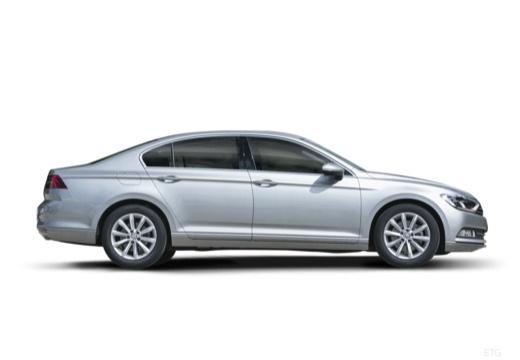 VOLKSWAGEN Passat B8 I sedan silver grey boczny prawy