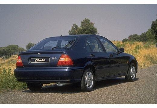 HONDA Civic III hatchback niebieski jasny tylny prawy