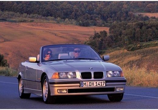 BMW Seria 3 Cabriolet E36 kabriolet silver grey przedni prawy