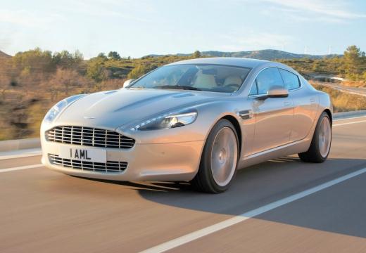 ASTON MARTIN Rapide coupe silver grey