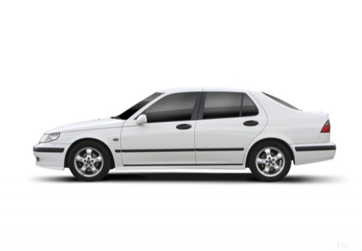SAAB 9-5 II sedan boczny lewy