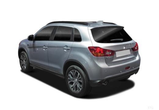 MITSUBISHI ASX III hatchback silver grey tylny lewy