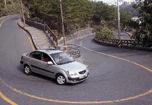 KIA Rio III sedan silver grey przedni prawy