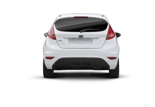 FORD Fiesta VII hatchback biały tylny