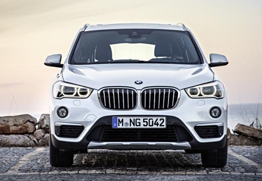 BMW X1 X 1 F48 I kombi biały przedni