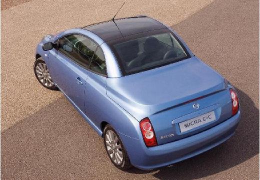 NISSAN Micra C+C kabriolet niebieski jasny tylny lewy